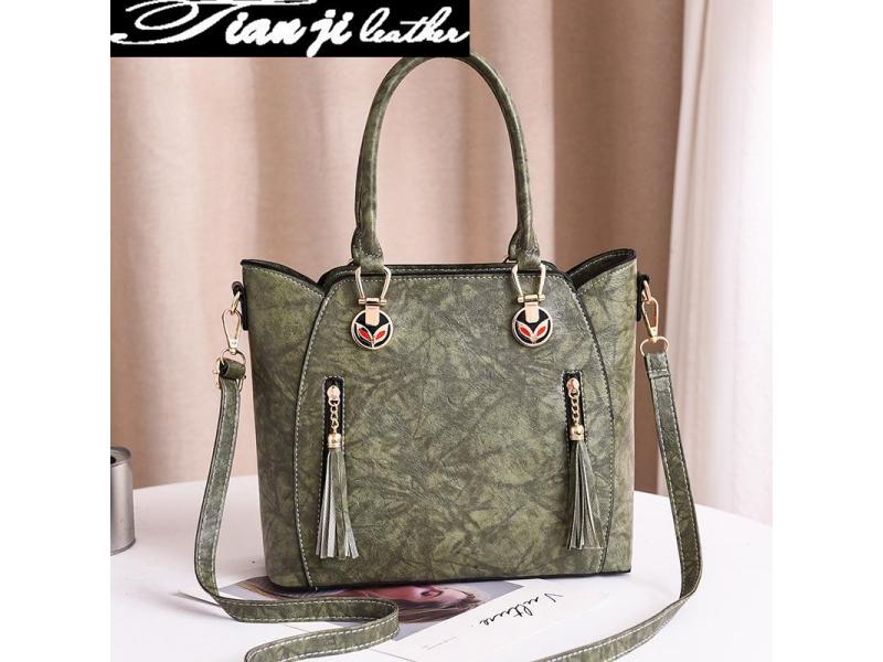 Wholesale OEM Classic Elegant Fashion Bag PU Leather Lady Handbag (J965)