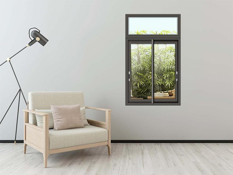 Soundproof sliding door system gate Tempered glass broken bridge doors and Windows aluminum alloy do