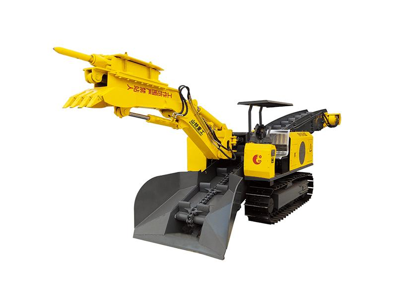ZWY-STB-60 crawler type mucking loader by scraper