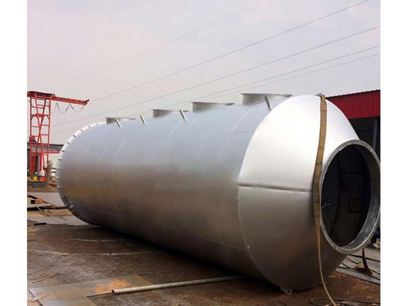 Fiberglass desulphurization precipitator