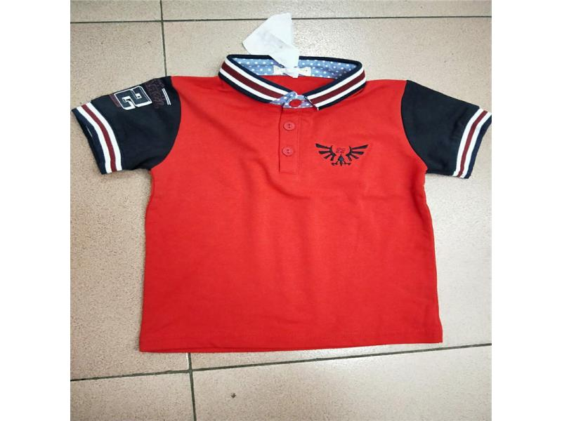 Boys Sports Series Cotton T-Shirt T016