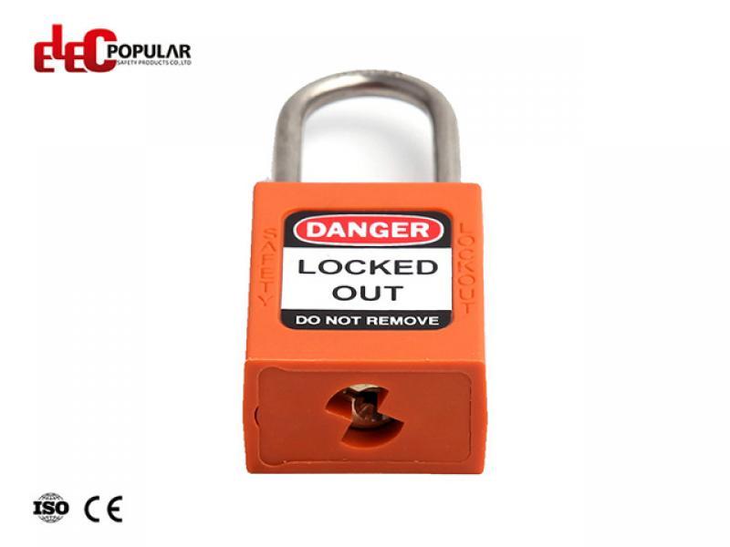 38mm Stainless Steel Shackle Slim Padlocks EP-8521N~EP-8524N  ABS Safety Padlock
