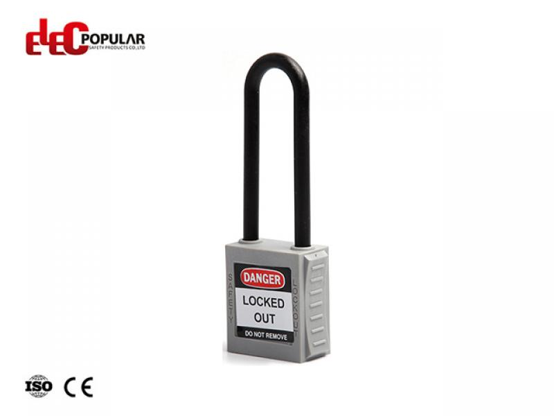 76mm Insulation Shackle Safety Padlocks EP-8551L~EP-8554L  ABS Safety Padlock