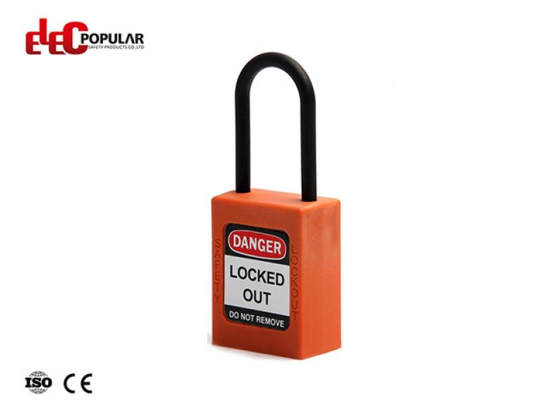 38mm Insulation Shackle Safety Padlocks EP-8531N~EP-8534N    ABS Safety Padlock