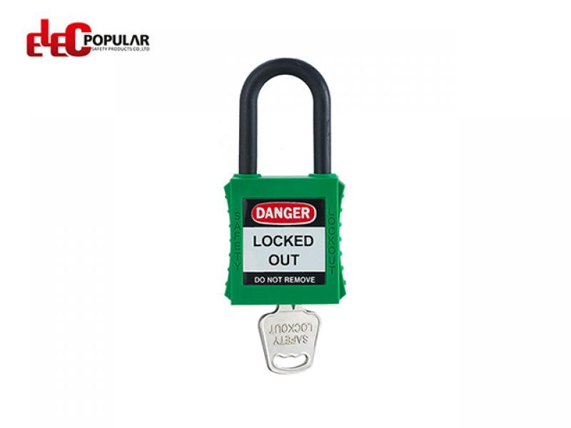 38mm Insulation Shackle Safety Padlocks EP-8531~EP-8534    ABS Safety Padlock
