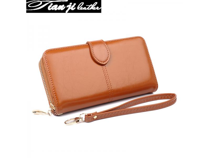 2019 Fashion New Designer Leather Lady Handbags Wallets