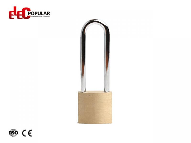 76mm Brass Steel Shackle Safety Padlocks EP-85551C~EP-8554C  Metal Body Padlock