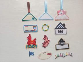 Embroidered stickers z0005