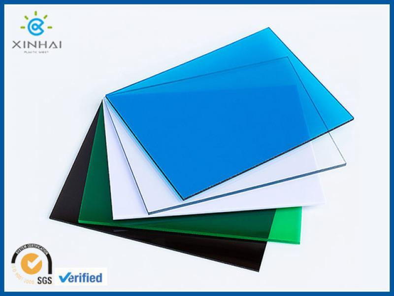 colored polycarbonate sheet polycarbonate roofing sheets with price list