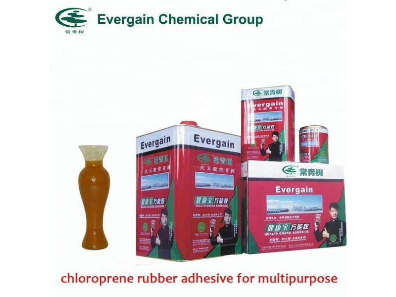 Super active all purpose contact adhesive for rubber and wood industry