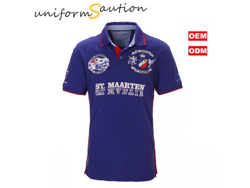 Custom cotton ST.MAARTEN national polo shirt