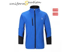 Custom corporate uniform sport fleece jacket for CALTEX