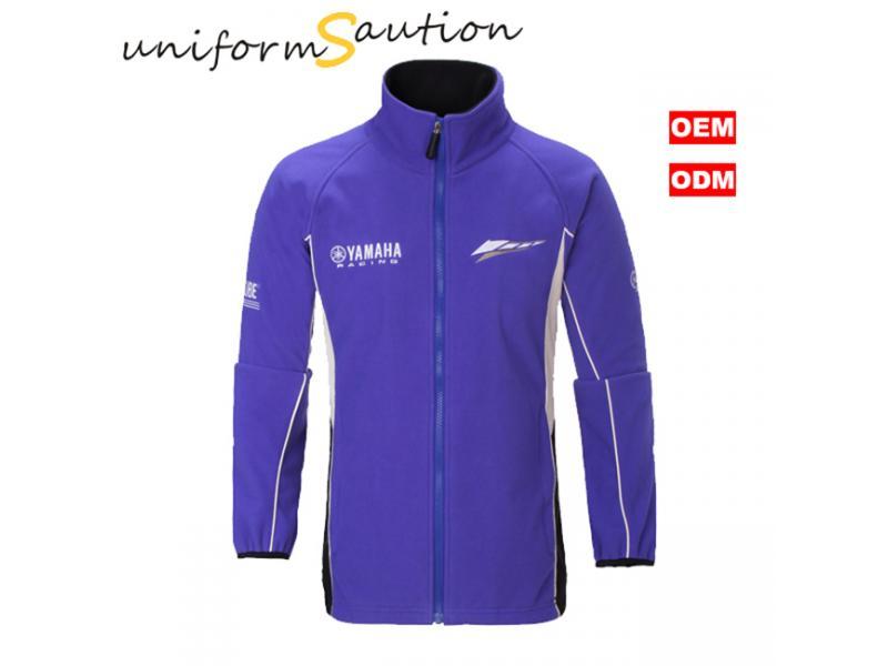 Custom F1 racing micro polar fleece warm jacket