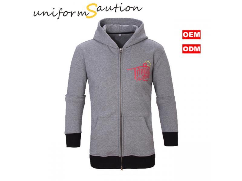 Custom design uniform cotton fleece hoody