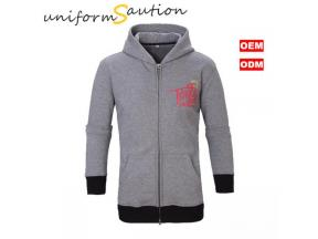Custom design uniform cotton fleece hoody