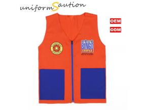 Custom event promotional work vest