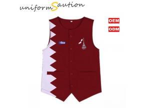 Custom vest for restaurant staff