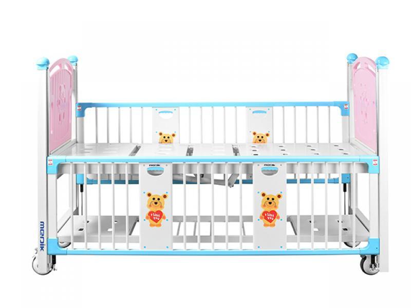 Manual Cartoon Children Hospital Bed For Sale