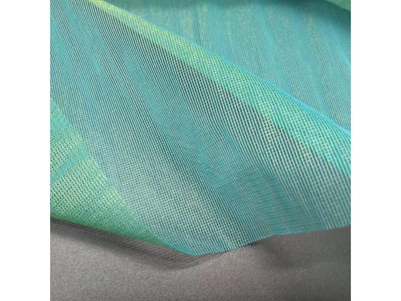 30D two tone nylon catatonic mesh fabric for dress