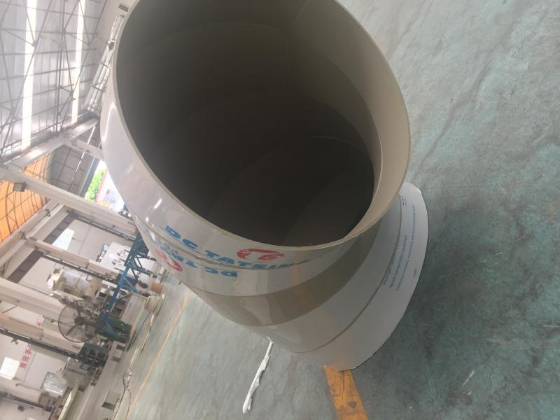 PP air duct elbow 90 degree polypropylene PP elbow plastic ventilation elbow forming PP elbow
