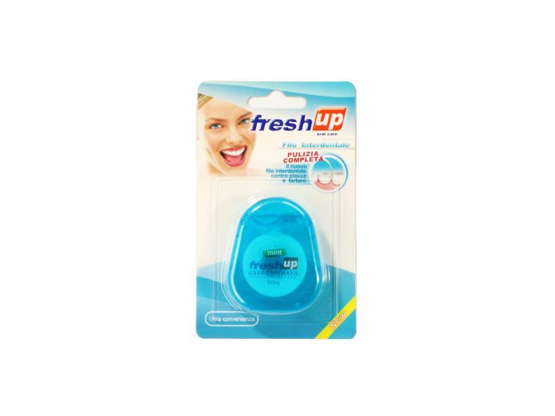 oval shape dental floss
