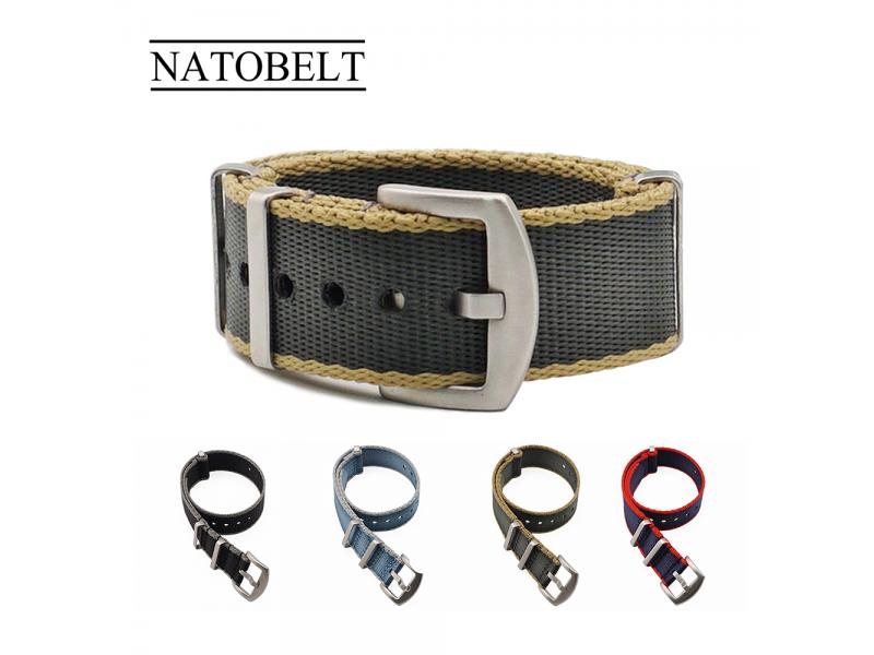 Juelong Seatbelt 20mm 22mm James Bond Nato Belt Watch Band