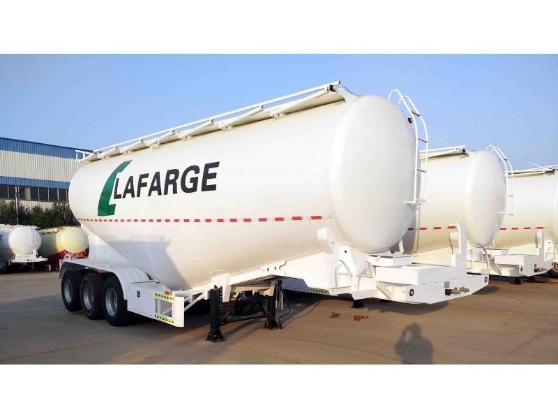 30~70m3 bulk cement tank semi-trailer/bulk fly ash tank semi-trailer/bulk cement semi-trailer/bulk p
