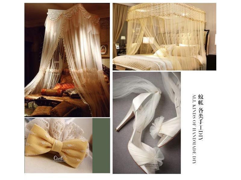 DIY colorful 18gsm 20D American mesh fabric net fabric for summer dress wedding dress