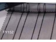 Wholesale FY193 Vertical stripe tulle mesh fabric