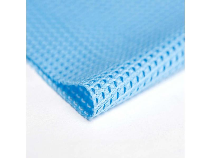 warp knitting triangle hole polyester fabric