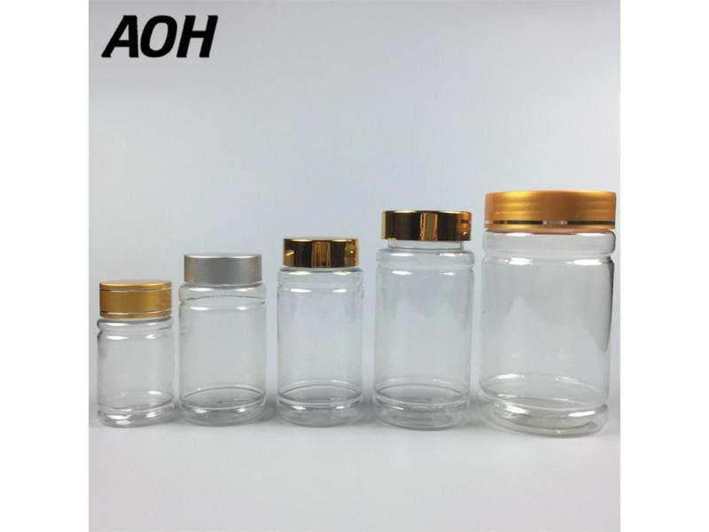 Hot Selling High Quality 50g,100g,120g,150g,300g Clear Pill Medicine Use Bottles Plastic Pills Bottl