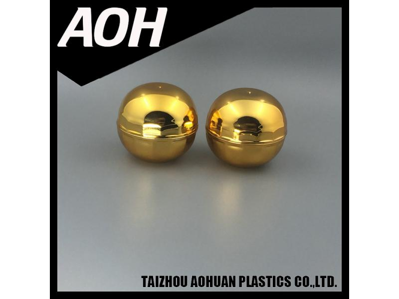 Gold beauty pills ball small plastic rhino pill container capsule bottle