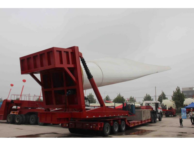 Special vehicle/modular low bed platform trailer/Bridge gider transport semi trailer/large engineeri