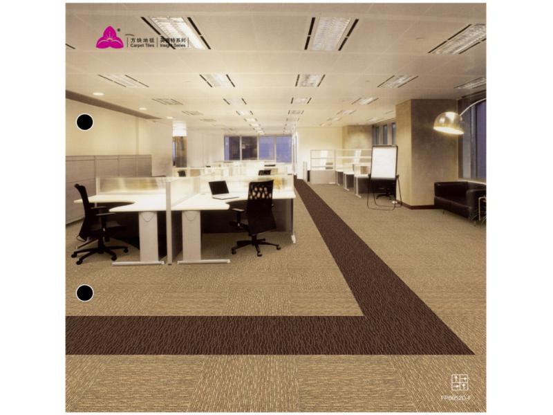Carpet Tile Insight Series 100%PP Pile Height 5.5-3mm Pile Weight 720/730/750g per sqm