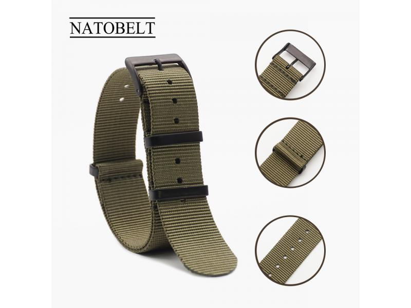 JUELONG 20mm 22mm Custom Nylon Military Nato Strap Watch Band