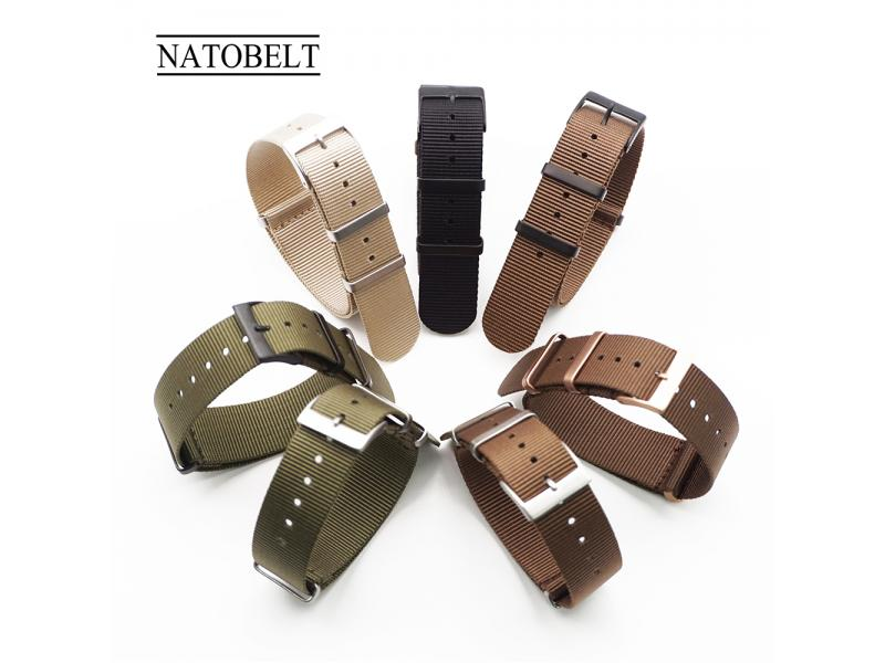 JUELONG Custom Military Quick Relase Nylon Nato Strap Watch Band