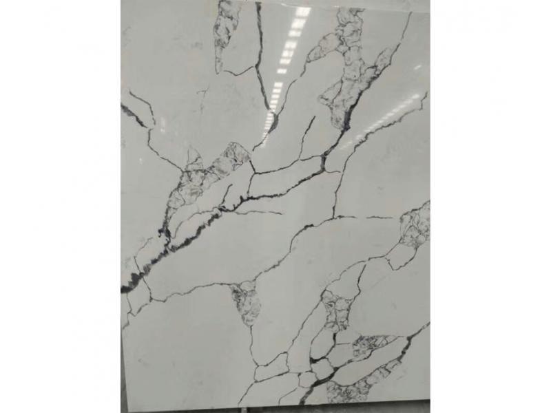 Calacatta Quartz Surfaces Black Veins