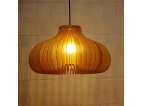 The Nordic Idea Wooden Pumpkin Droplight Cafe Bar Bedroom Woodwork Droplight Sitting Room Dining-roo