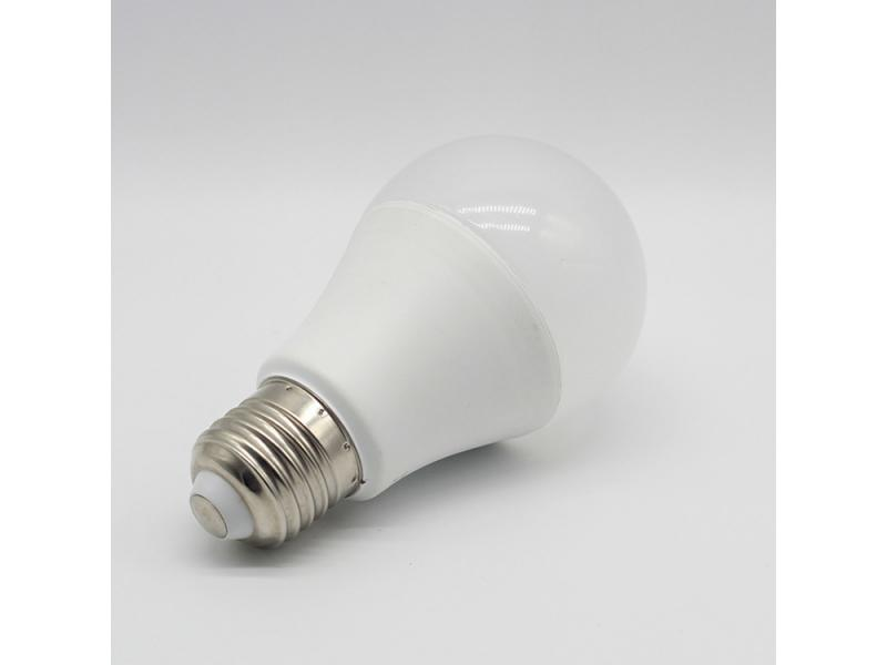 Hot selling white led round thermal plastic led bulb a60 18w 22w based e27/b22