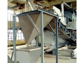 Lead silicate production line