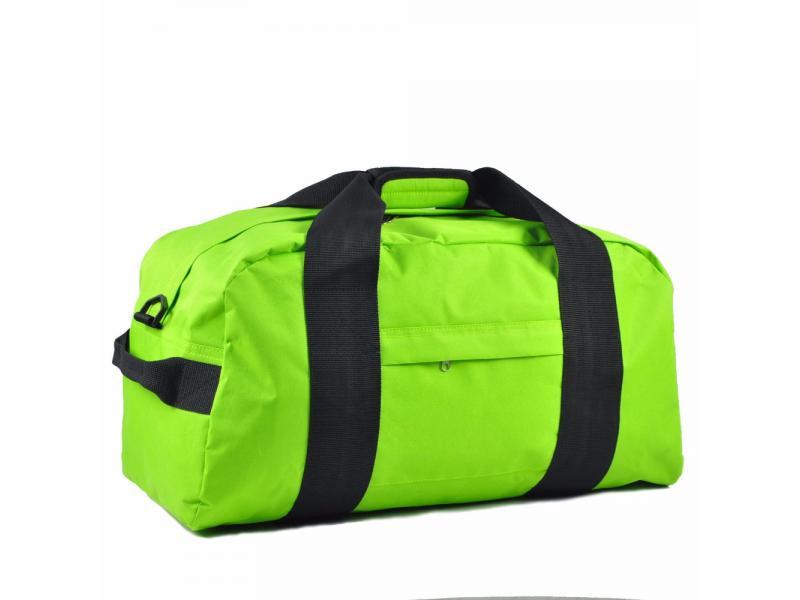 Large Green Sports Promotional Duffel Bag