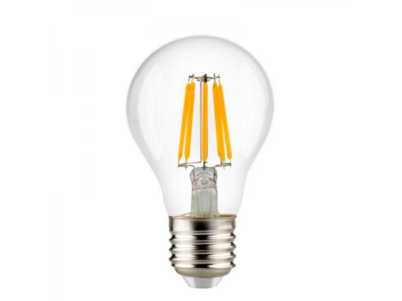 CE RoHS approved LED 2W 4W 6W 8W 10W 12W  filaments A60 e27 e26 B22 led filament bulbs christmas lig