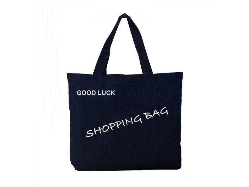 Cheap Customized Logo Tote Shopping Bag, Cotton Canvas Bag