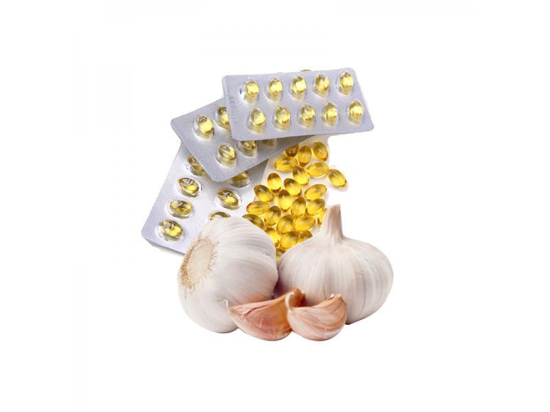 OEM Supply Garlic Oil Softgel Capsule