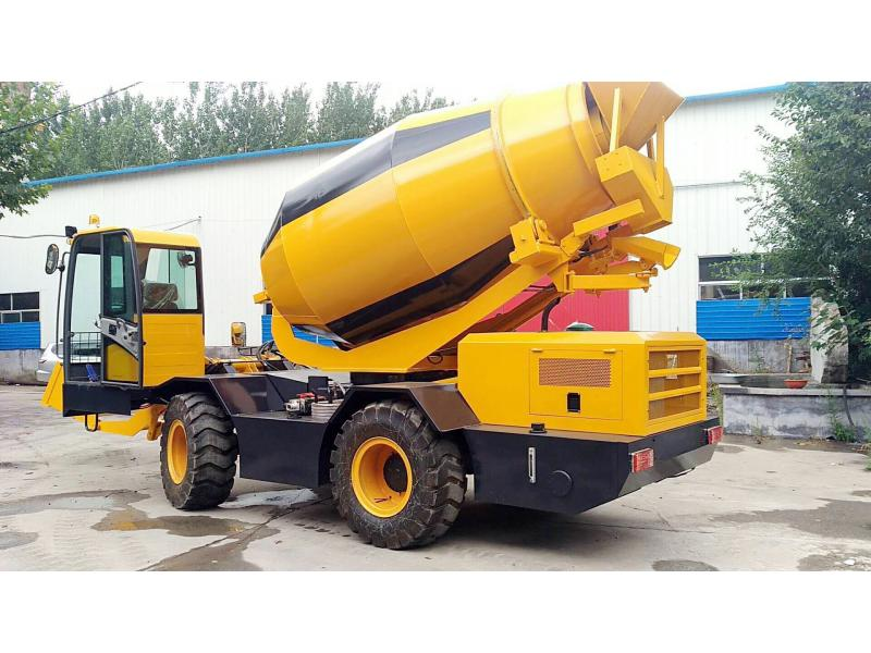 Stir/Small mixer/Self-loading concrete cement mixer/Cement mixer/Cement mixing tank truck/smei trail