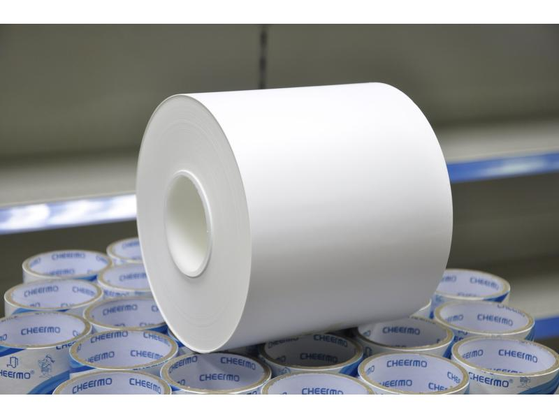 Synthetic paper label material for Garment