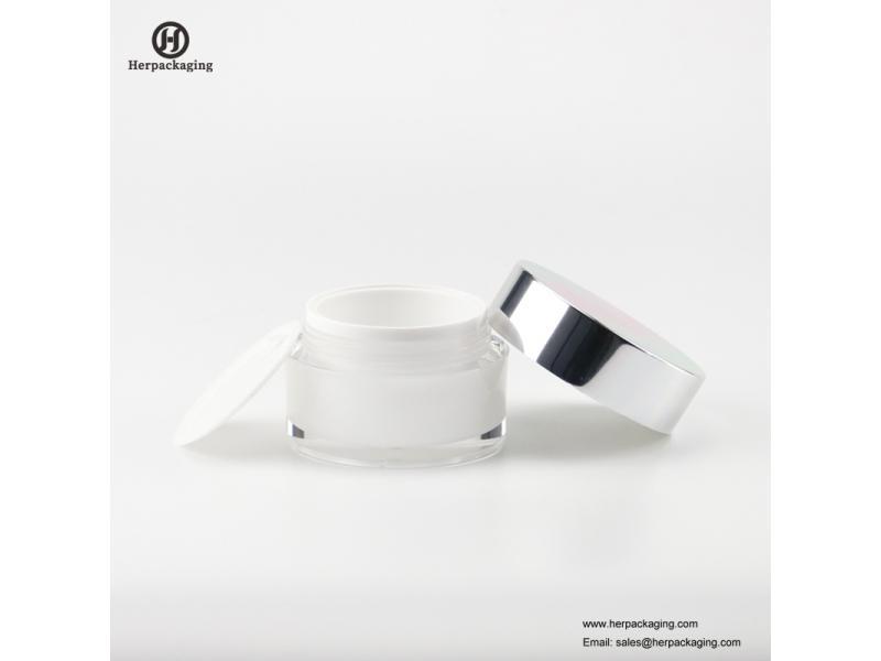skin care cream acrylic 50g empty plastic cosmetic jar