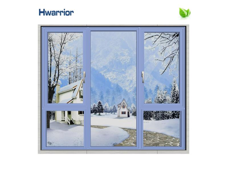 Professional new design window modern narrow with glass aluminum office doors
