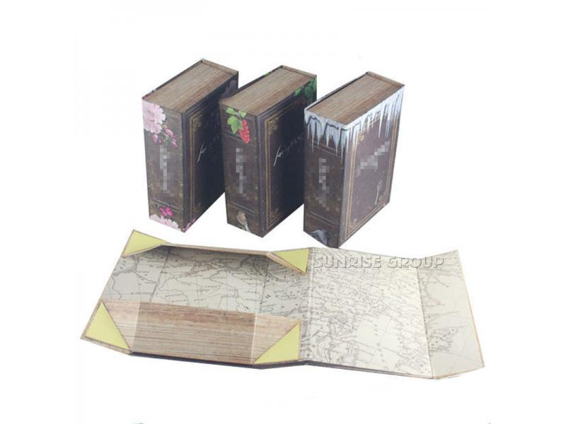 High-end Pure White Silver Foil Custom Printing Special Packaging Paper Foldable Box