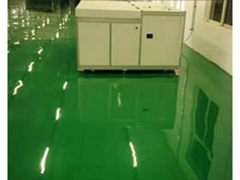 Epoxy anti-static self-leveling floor